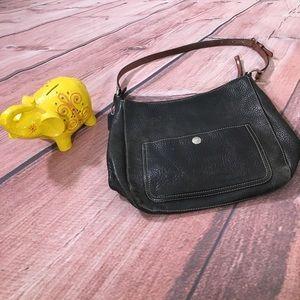 Coach Chelsea Black Pebbled Leather Handbag